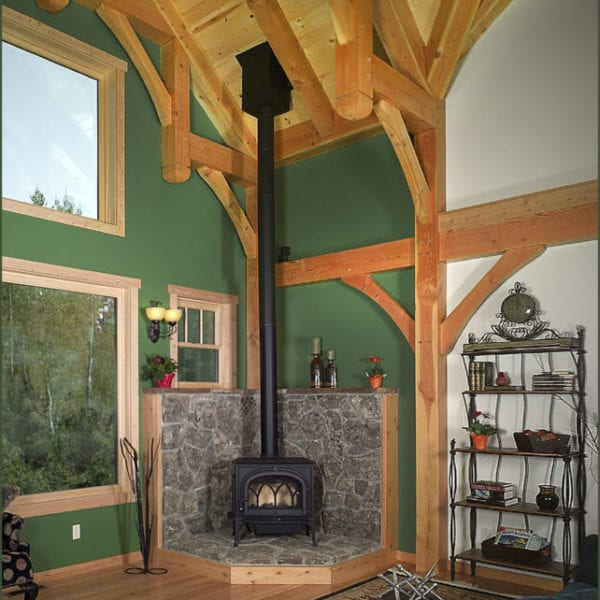 Custom home Bridgewater Innovative Builders whitefish kalispell montana
