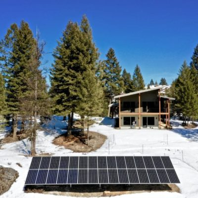 Energy Efficient Custom Home Whitefish Montana