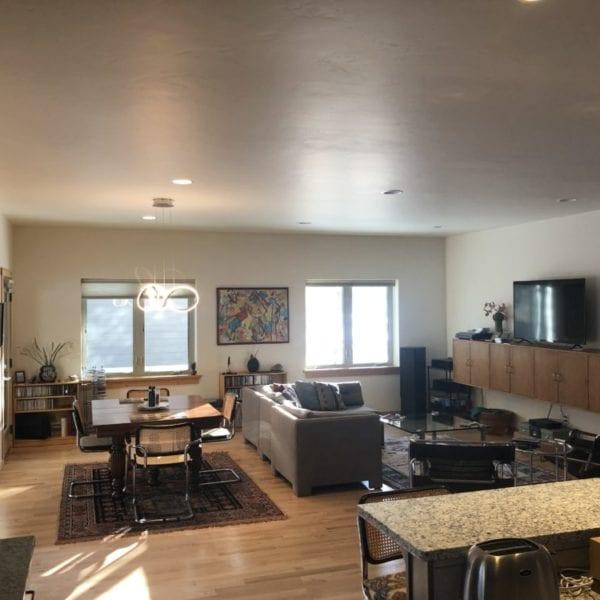 Custom living room Bridgewater Innovative Builders