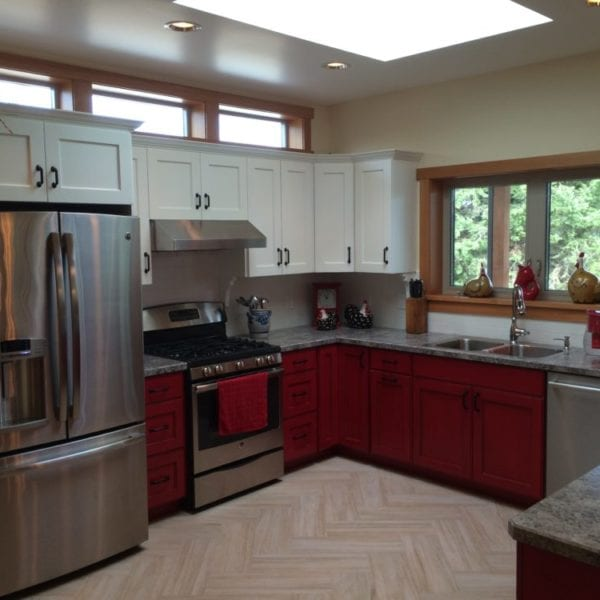 Custom kitchen Bridgewater Innovative Builders whitefish kalispell montana