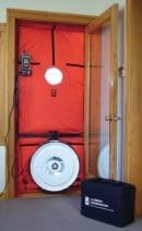 Energy Audit Blower Door testing whitefish kalispell montana