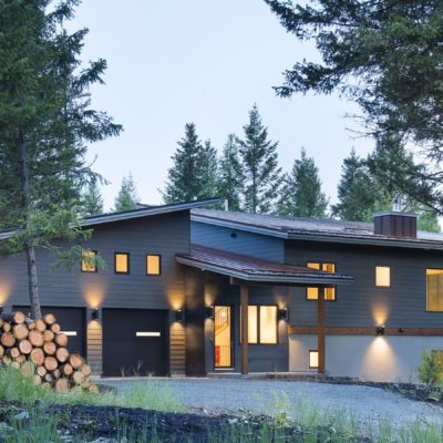 Net Zero Custom Home Whitefish MT